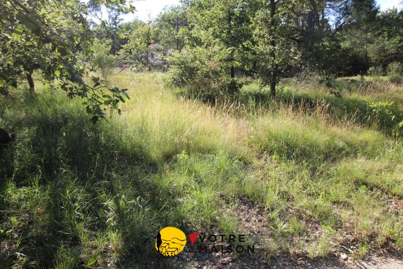 TERRAIN CONSTRUCTIBLE LA ROQUE D ANTHERON - 1100 m2