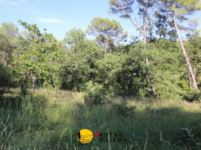 TERRAIN CONSTRUCTIBLE LA ROQUE D ANTHERON - 1500 m2